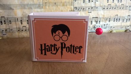 Harry Potter Hand Cranked Music Box Wondrous World